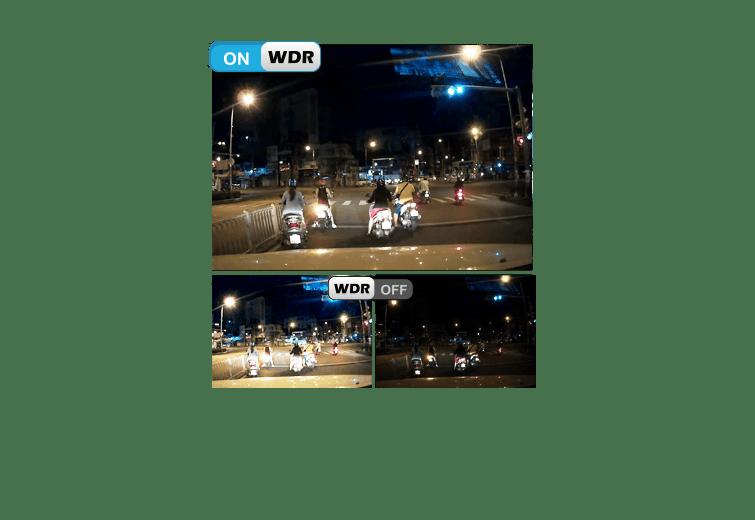 vietmap x9s được hỗ trợ công nghệ hình ảnh WDR có khả năng ghi hình ngược sáng