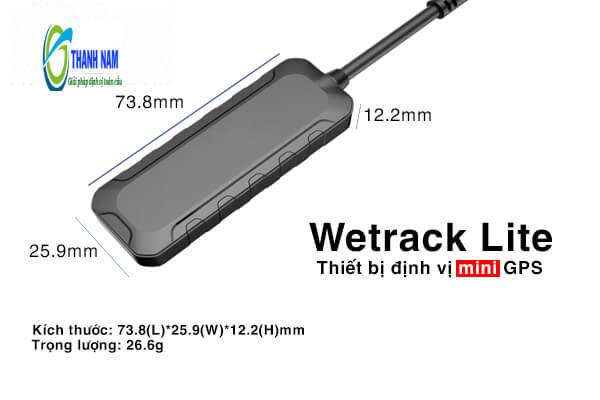 Thiết bị định vị xe máy Wetrack Lite