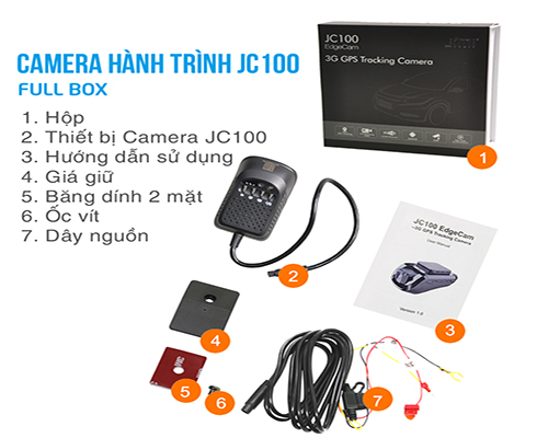 Trọn bộ sản phẩm jc100