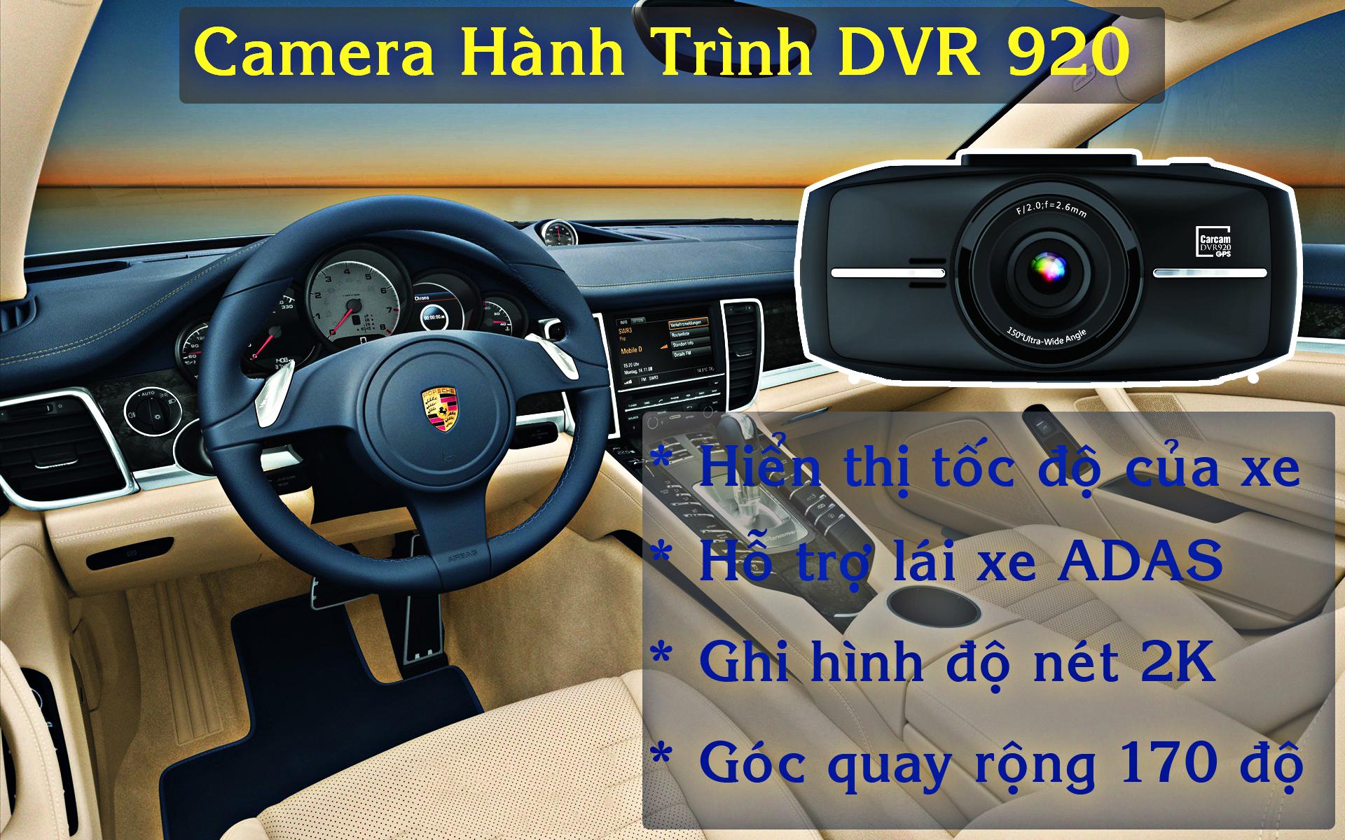 camera hành trình ô tô cao cấp dvr 920