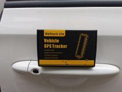 Thiết bị định vị ô tô GPS giá rẻ Wetrack Lite