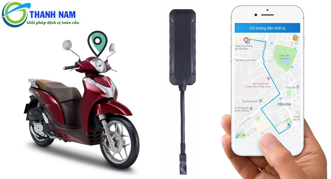 thiết bị định vị chống trộm thông minh cho xe máy