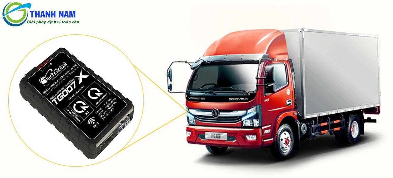 thiết bị định vị giám sát hành trình xe hợp chuẩn TG007X