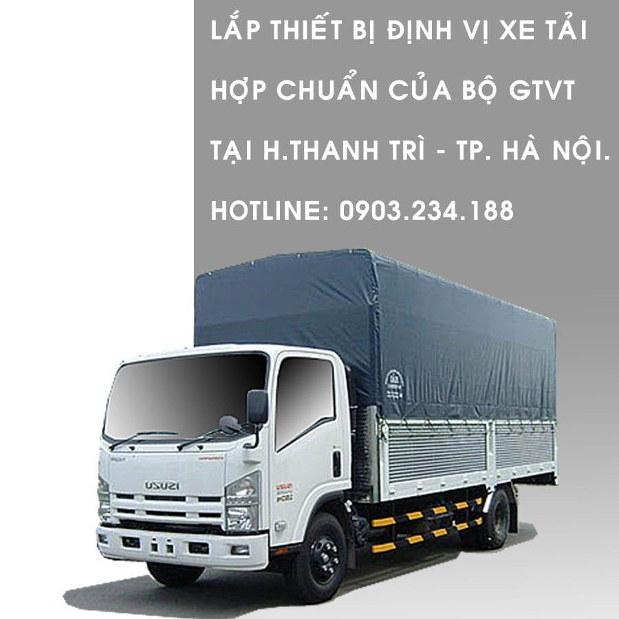 lắp thiết bị định vị xe tải tại thanh trì