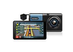 Camera hành trình Vietmap A50 ghi hình trước sau kiêm dẫn đường