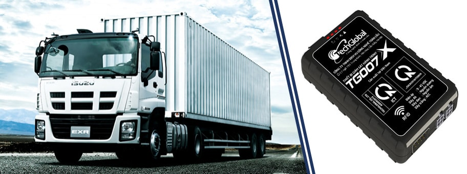 thiết bị định vị xe tải tg007x
