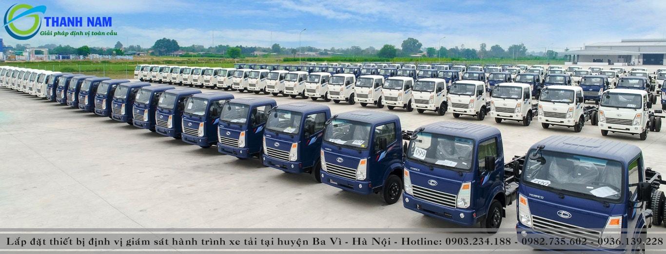 lắp thiết bị định vị xe tải tại huyện Ba Vì Hà Nội