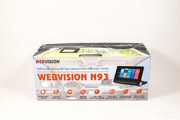 bộ sản phẩm webvision n93 tại thành nam gps