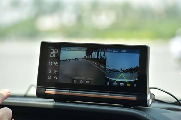 hình ảnh thực tế camera hành trình cao cấp webvision n93