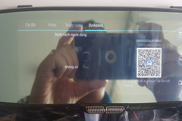 Firstscene C08 có khả năng kết nối WIFI 3G