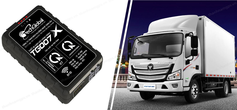 thiết bị định vị xe tải hợp chuẩn BGTVT TG007X