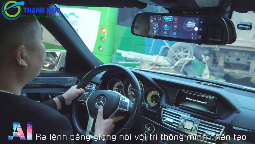 camera hành trình webvision m39 ai - điều khiển bằng giọng nói tiếng việt