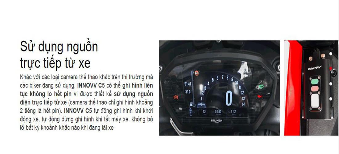 thiết bị sử dụng nguồn trực tiếp từ xe