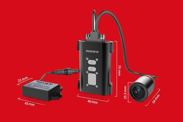 camera hành trình dành cho xe mô tô nên có kích thước khả nhỏ gọn - dễ dàng lắp đặt