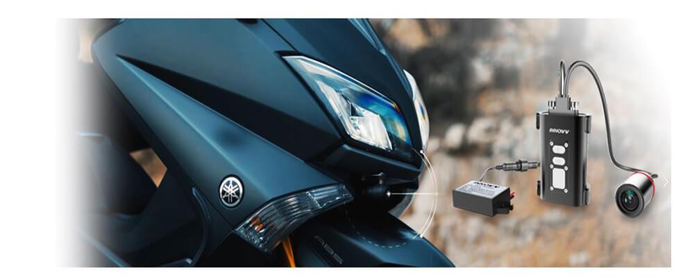 Vietmap Innovv C5 có khả năng tự động ghi hình khi khởi động xe