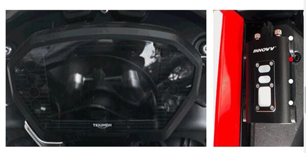 camera hành trình xe máy lấy nguồn trực tiếp từ xe