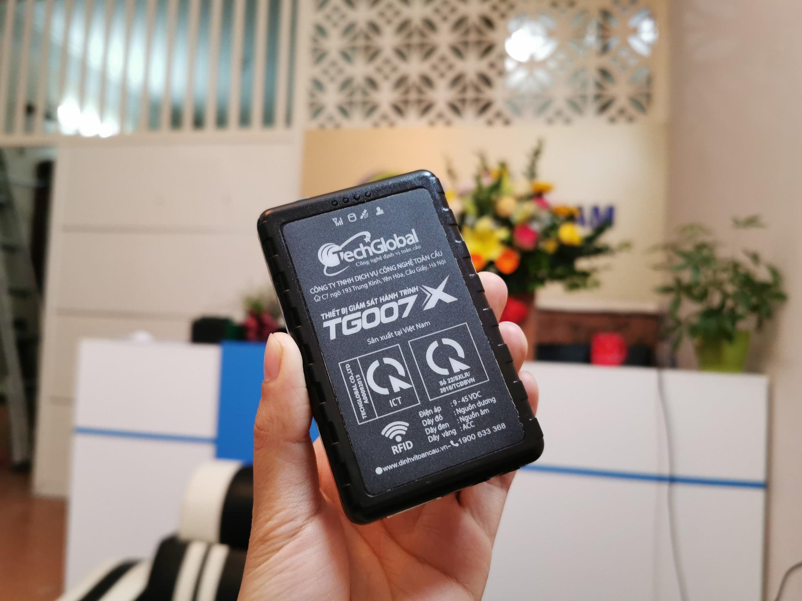 thiết bị định vị - giám sát hành trình hợp chuẩn bộ giao thông vận tải tg007x