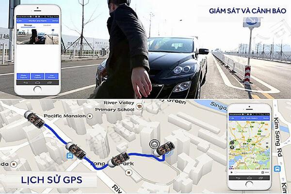 tính năng dẫn đường thông minh của camara hành trình ô tô webvision m39