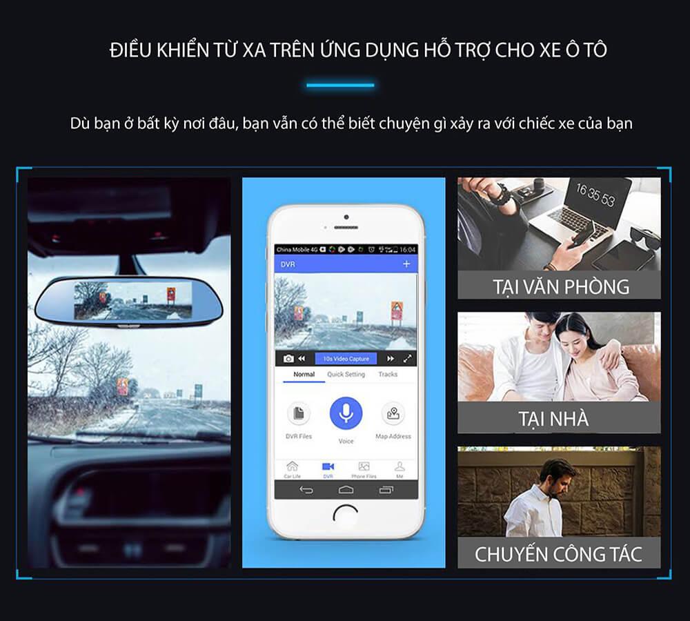 chức năng giám sát - định vị xe từ xa của webvision m39