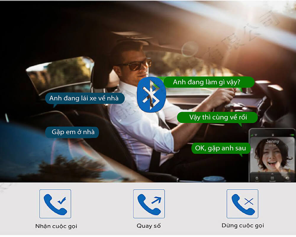 m39 hỗ trợ đàm thoại rảnh tay - an toàn khi lái xe