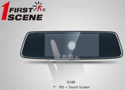 Camera hành trình gương 2 mắt trước sau D188 – 7 inch