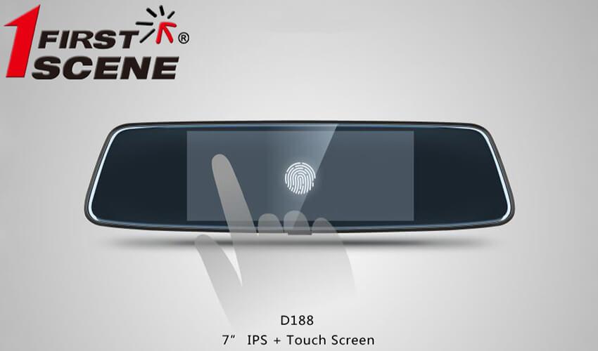 màn hình camera cảm ứng đa điểm dễ thao tác của d188