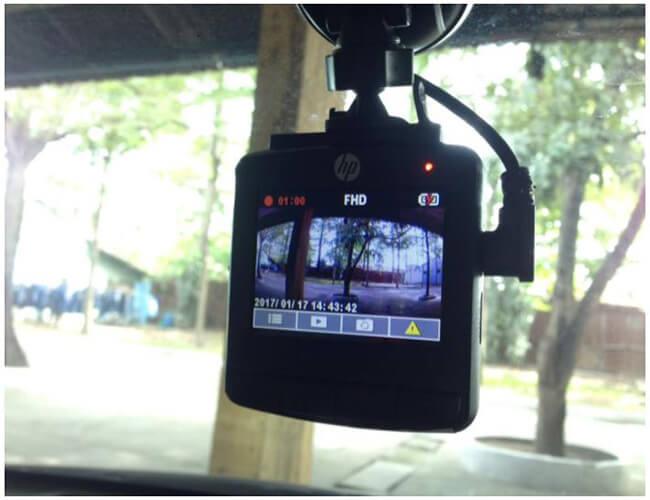 tính năng hỗ trợ lái xe thông minh của cam hành trình xe hp f350