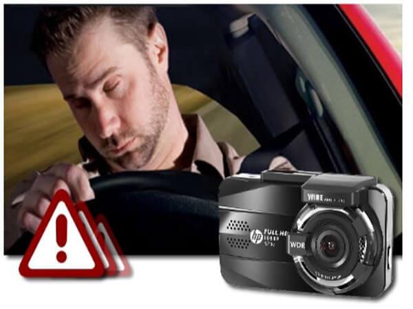 f860x cảnh báo buồn ngủ - hỗ trợ lái xe an toàn