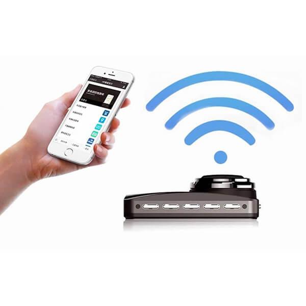 hp f860x có khả năng kết nối WIFI