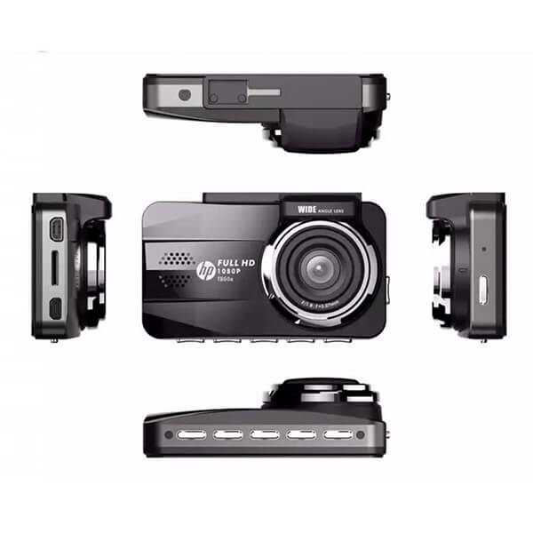 kích thước chuẩn - cận cảnh camera hành trình chất lượng cao hp f860x