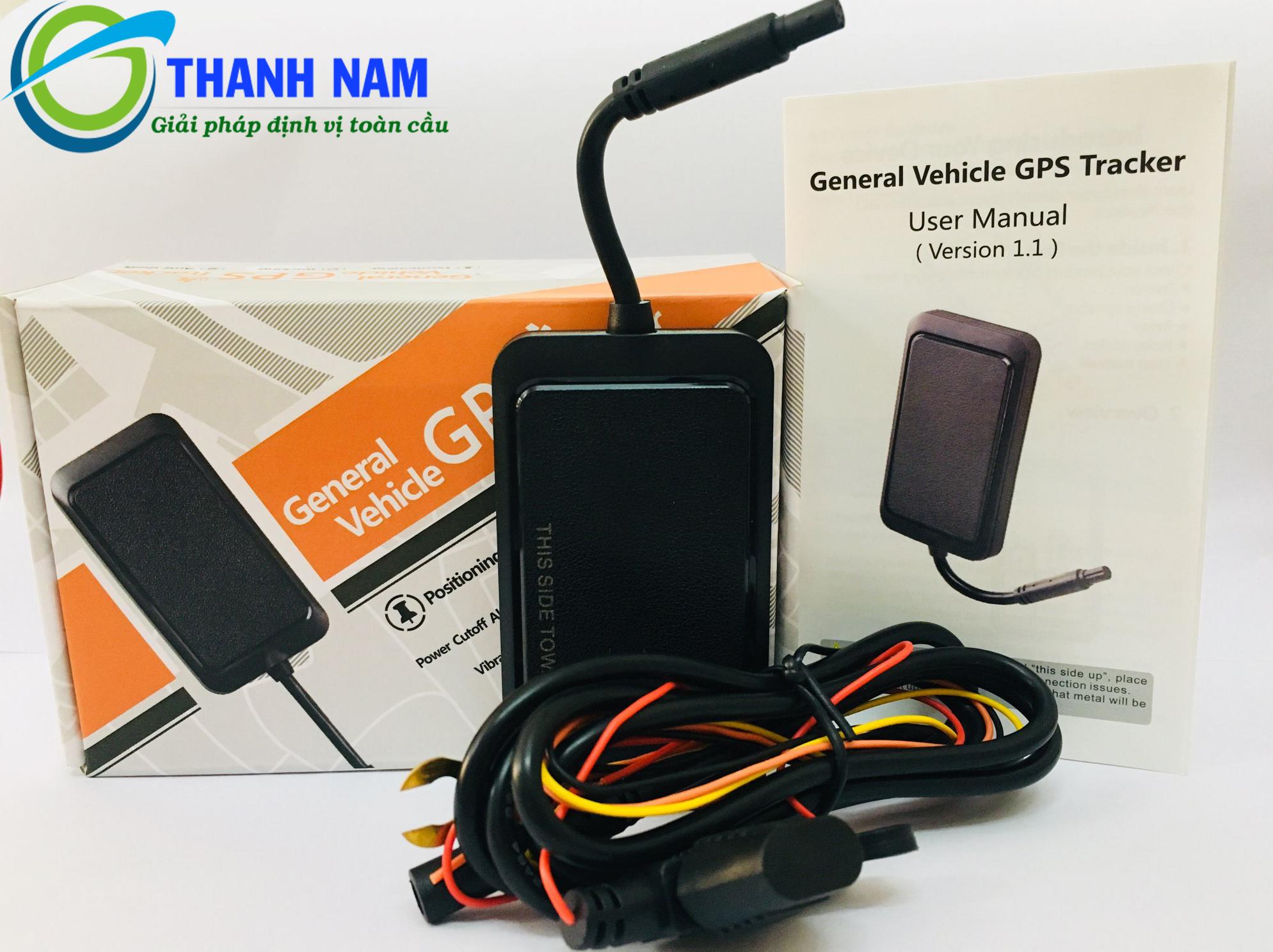 Bộ sản phẩm định vị ô tô wetrack 2 tại Thành Nam GPS