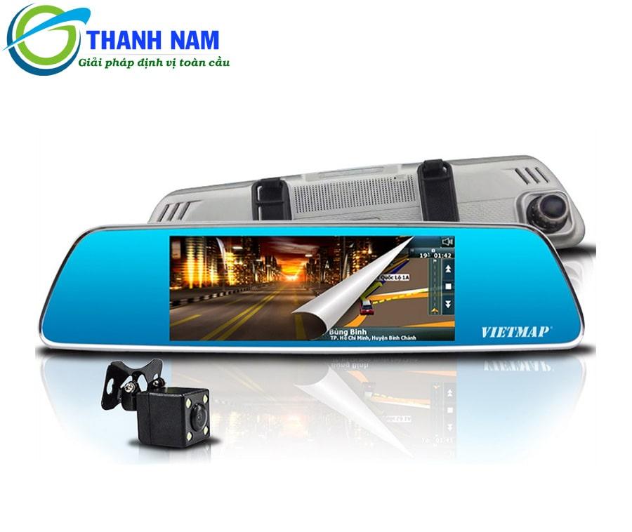 camera hành trình dẫn đường - ghi hình kép vietmap p1