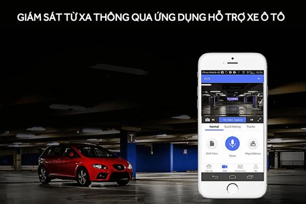 sử dụng n93 plus bạn còn có thể giám sát xe từ xa 24/24