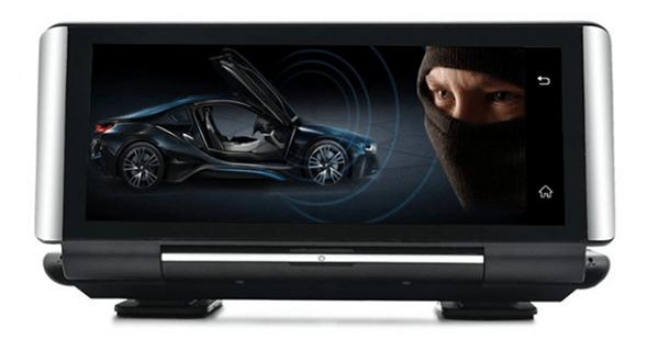 chống trộm thông minh khi lắp đặt camera hành trình xe hơi webvision n93 plus