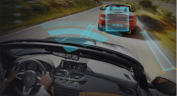 hệ thống cảnh báo lái xe thông minh của hp f870x