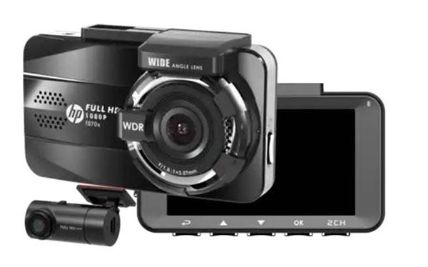 cận cảnh camera hành trình ô tô hp f870x