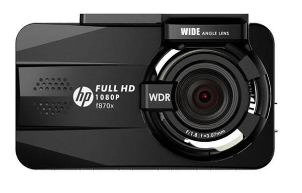 hp f870x là dòng sản phẩm cao cấp trong làng camera hành trình việt