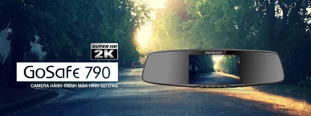 camera hành trình ô tô ghi hình 2K vô cùng chân thực và sắc nét
