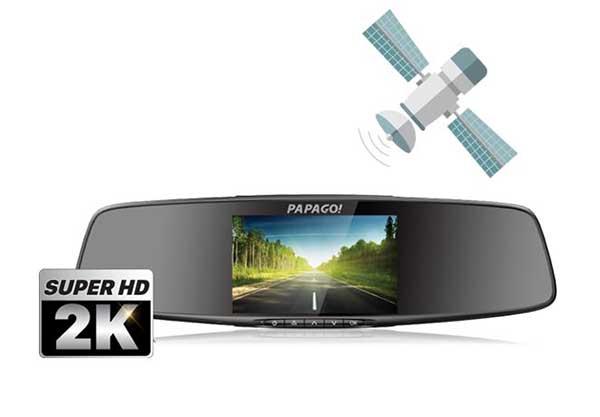 camera hành trình Gosafe 790 có khả năng nhận diện chuyển động