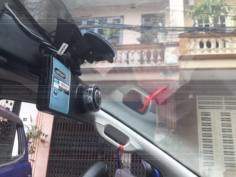 lắp đặt camera hành trình vietmap a50 cho xe ô tô
