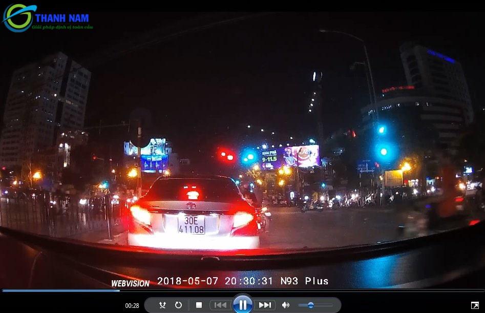 camera ghi hình siêu sắc nét của thiết bị dẫn đường ô tô webvision n93 plus