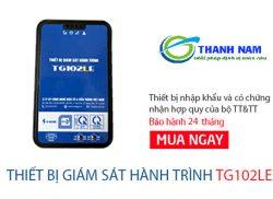 Thiết bị giám sát hành trình QCBGTVT TG102LE rẻ nhất