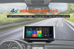 Thiết bị dẫn đường kèm camera hành trình trước sau Webvision N93 Plus 4G GPS