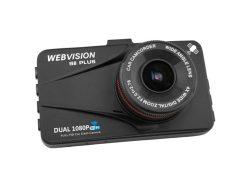 Webvision S8 Plus Wifi- camera hành trình ghi hình 2 mắt trước sau