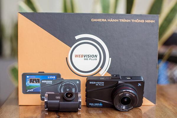 trọn bộ camera hành trình webvision s8 plus tại thành nam gps