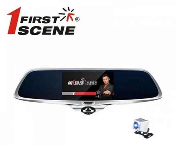 cam hành trình Firstscene X66 hỗ trợ camera lùi chuyên nghiệp