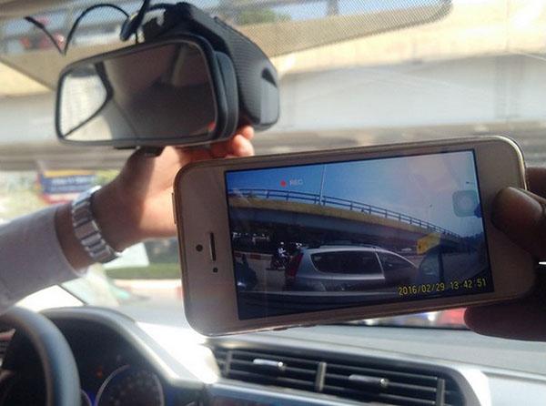 xem video hành trình trên điện thoại di động
