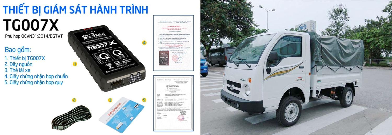 quản lý và giám sát đội xe hàng chục chiếc hiệu quả với thiết bị định vị xe tải