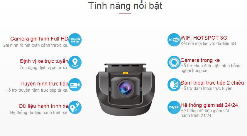 top tính năng nổi bật của camera hành trình vietmap vm100
