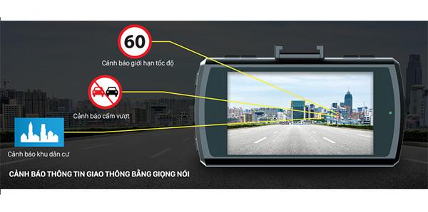 hệ thống cảnh báo thông tin giao thông của vietmap k9s